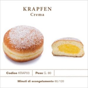 Krapfen crema - Surgelés